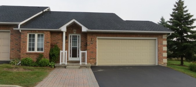 SOLD — spacious one floor End unit townhome